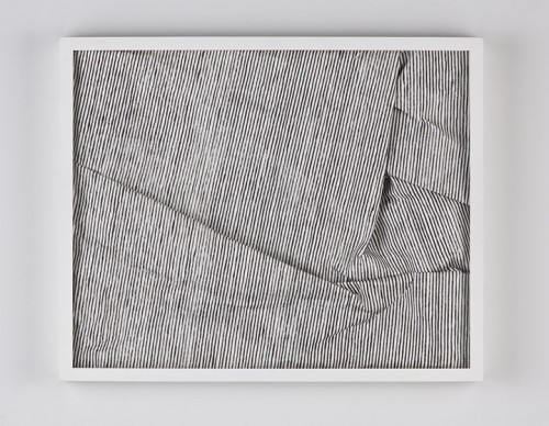Untitled, carbon on paper, 16 x 14 inches, 2010
